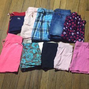 Bundle Girls Summer Shorts Size 5 5T
